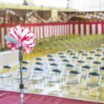 卒業式の会場で祝辞を読むときに用紙は必要?