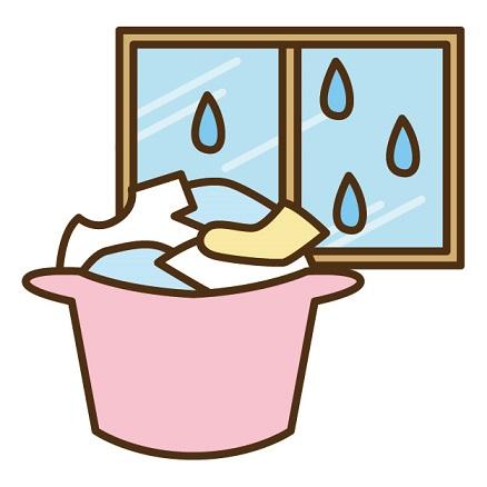 雨の日の洗濯物の干し方は?外干しで雨よけカバーの選び方は?