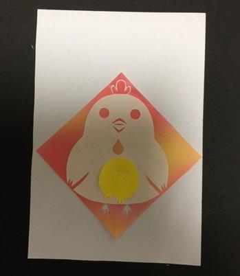 年賀状を手作りしよう酉年編 折り紙による簡単切り絵をご紹介!