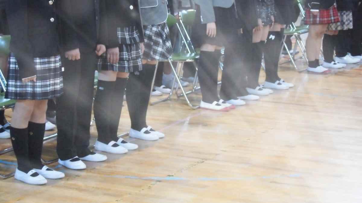 学生の靴下